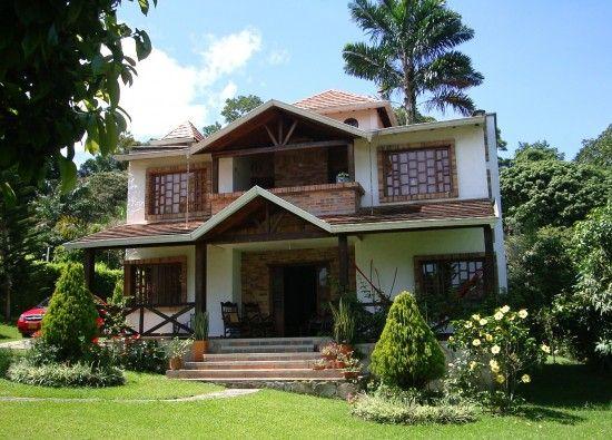 Casas campestres piedecuesta casas en for Fachadas de casas campestres