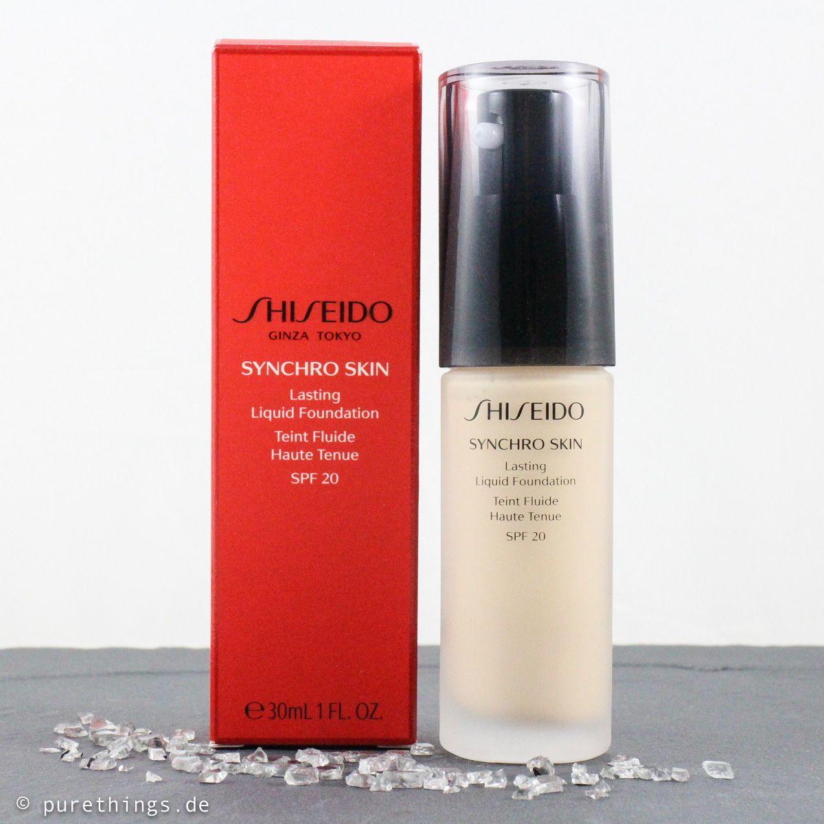 SommerFoundation Shiseido Synchro Skin Lasting Liquid