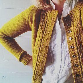 Photo of Southwell Cardigan-mønster av Marie Greene | Cardigan mønster, hvordan du vrang strikk, strikking