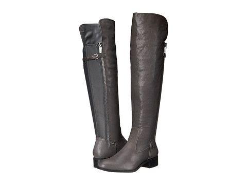 Womens Boots Vaneli Raysel Black Nival Suede/Black Elasticized Suede