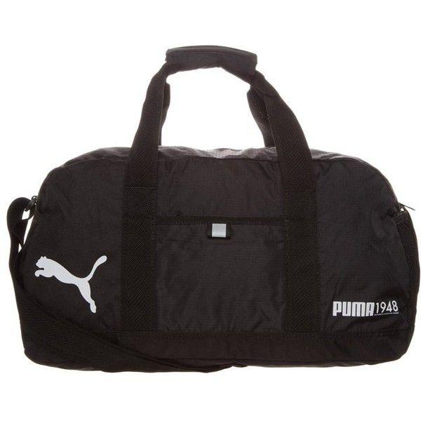 45048fa09a Puma FUNDAMENTALS Sports bag (1.475 RUB) ❤ liked on Polyvore featuring black