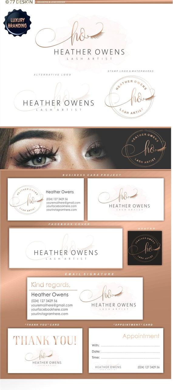 Lash extensions logo, Artist logo design, Eyelash branding