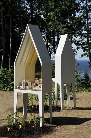 Sacré Potager par Atelier Barda, Festival international des jardins de Métis, Grand Métis, Québec