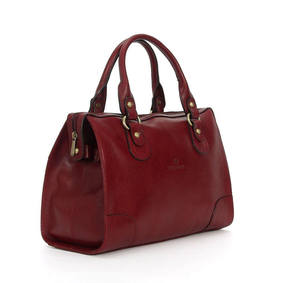 Elegancka Torba Kuferek Naturalna Skora Licowa Fv 4232350847 Oficjalne Archiwum Allegro Bags Top Handle Bag