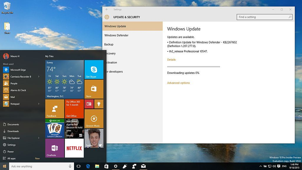 Windows 10 build 10547 now ready for download with