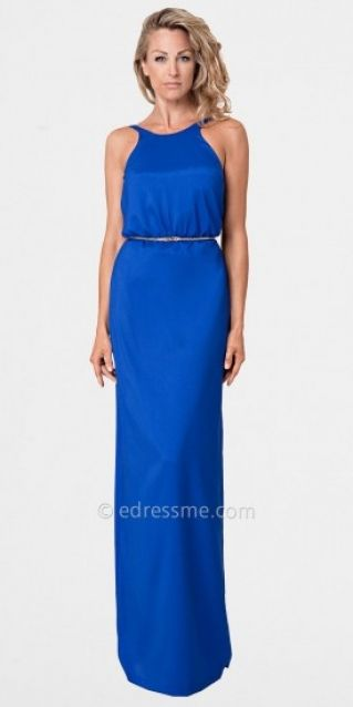 CHIQ | Blue Evening Dresses by JS Collection js collection