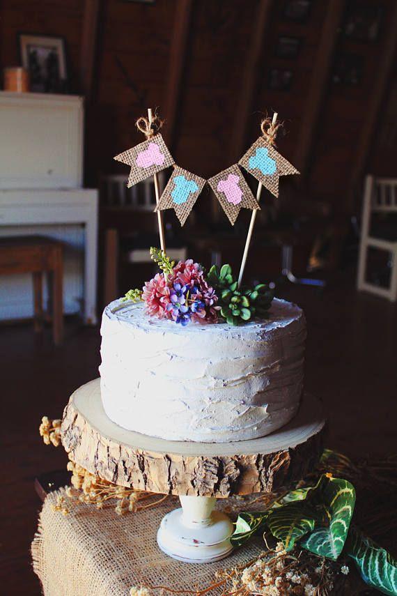 Gender Reveal Cake Topper Boy Or Girl Cake Topper Onesie Cake Topper Gender Reveal Gender Reveal Cake Topper Gender Reveal Cake Baby Shower Cake Toppers Boy