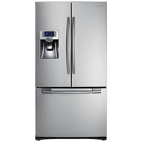 Buy Samsung RFG23UERS 3-Door Fridge Freezer, Stainless Steel Online at johnlewis.com
