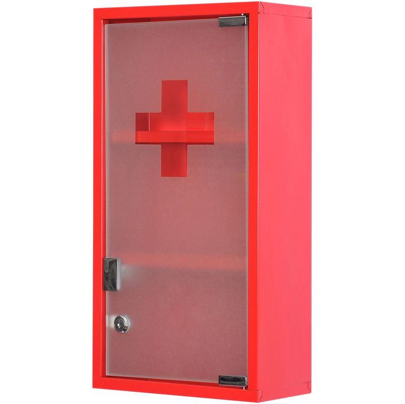 Coffret De Secours Armoire A Pharmacie Porte Verre Coffret