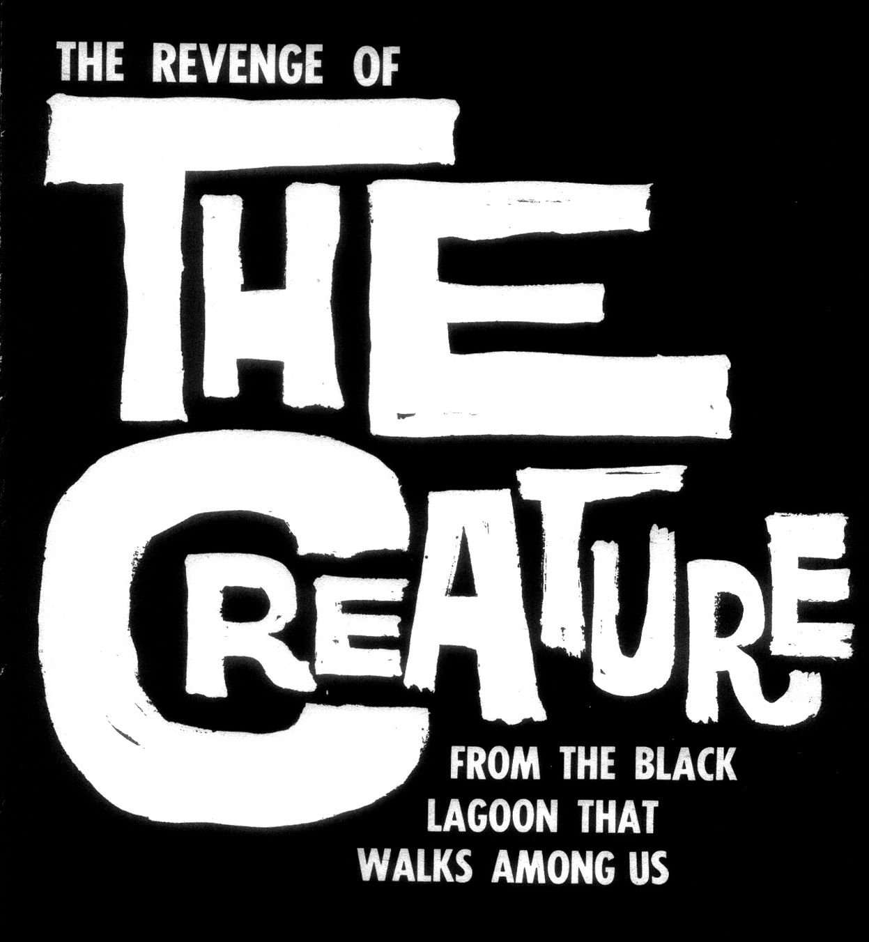 The revenge of the creature from the black lagoon that