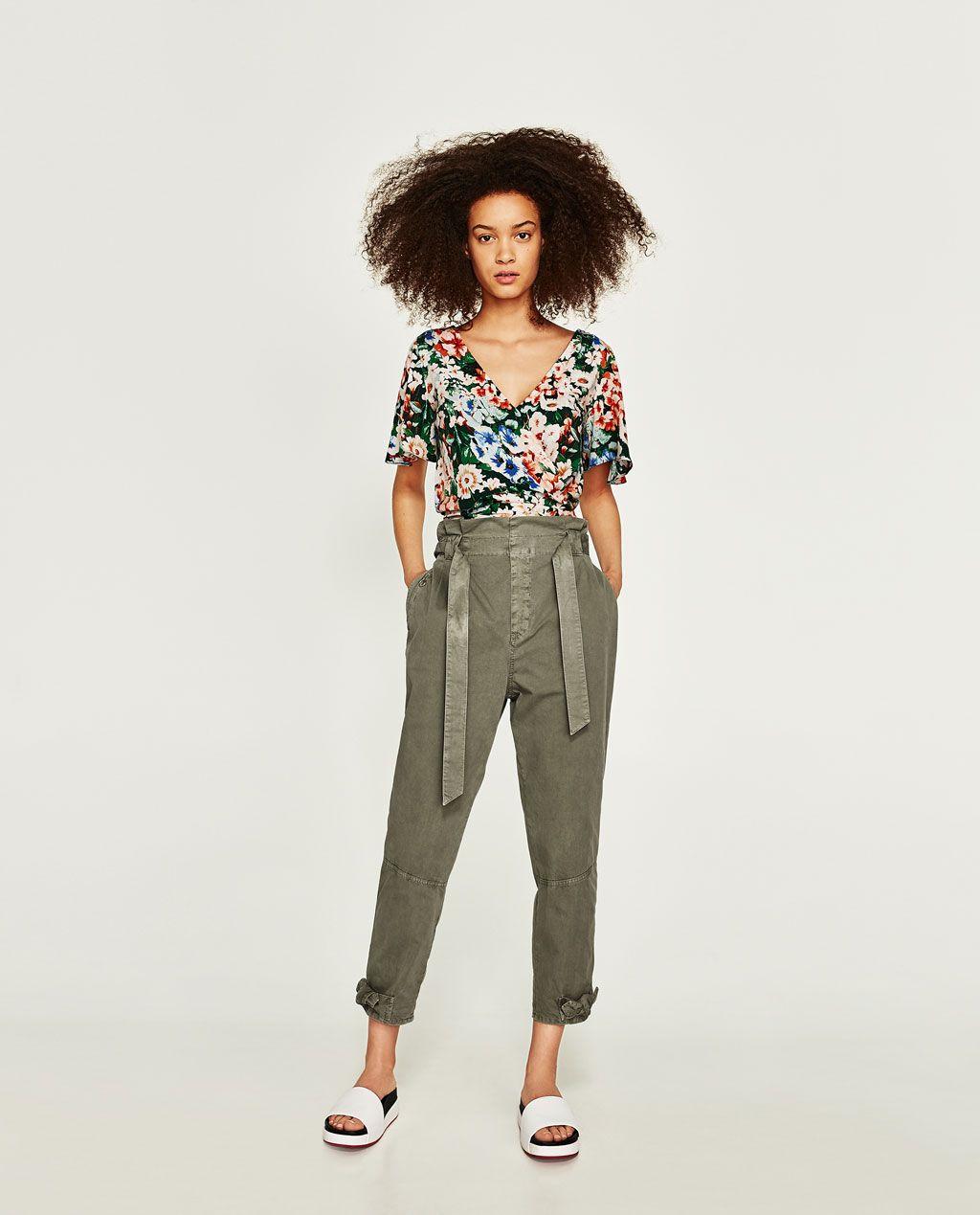 c4b567a6a8 PANTALÓN BAGGY LAZO | ANNA x STYLE | Baggy trousers, Trousers ...