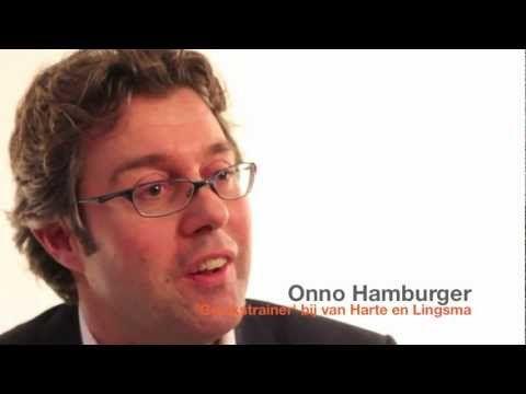 Onno Hamburger (schrijver van 'Gelukkig werken' en 'Gelukstrainer' bij van Harte en Lingsma) is al ruim 10 jaar bezig met het bestuderen van geluksdenken en de invloed die geluk heeft op ons leven en ons werk.  Dit filmpje is een onderdeel van een interview van dertig minuten, dat hij gaf als bijdrage aan het boek en de DVD 'Ondernemend Geluk'. Hij beschrijft dat geluk en ongeluk samen een systeem vormen, dat in de vorm van een lemniscaat zorgt voor permanente ontwikkeling.