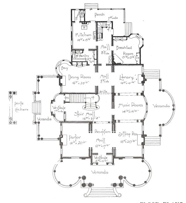 George F Barber Floor Plans