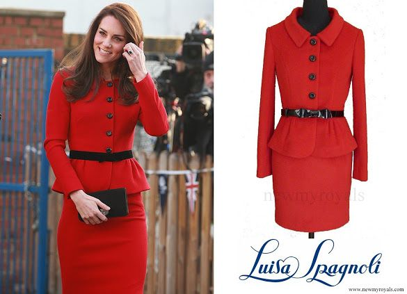 6 February 2017 - Kate style: LUISA SPAGNOLI (recycled)