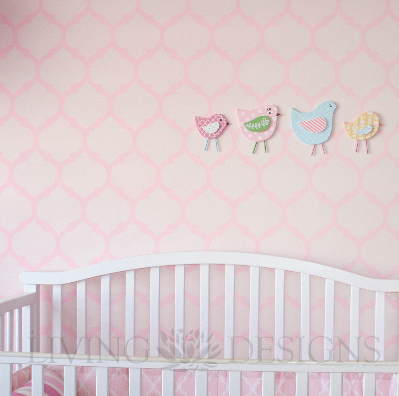Plantillas decorativas m s accesible que el papel tapiz y - Plantillas decorativas infantiles ...