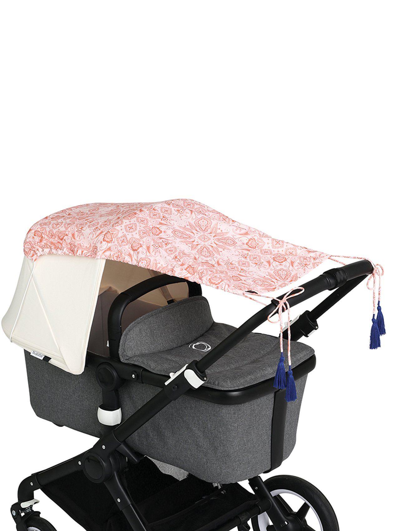 Sonnensegel Valley Of Flowers In Rosa In 2020 Sonnensegel Kinderwagen Kinder Wagen