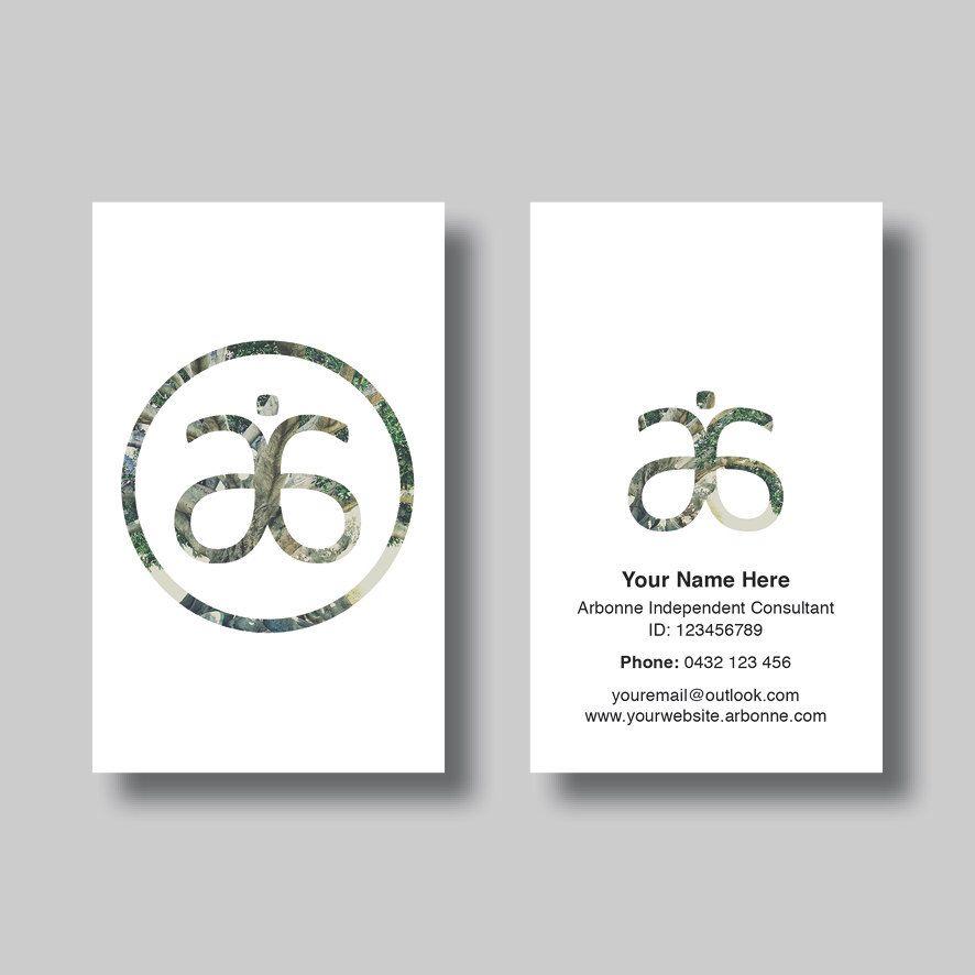 Arbonne Business Card (Simplicity Circle) - Digital Design ...