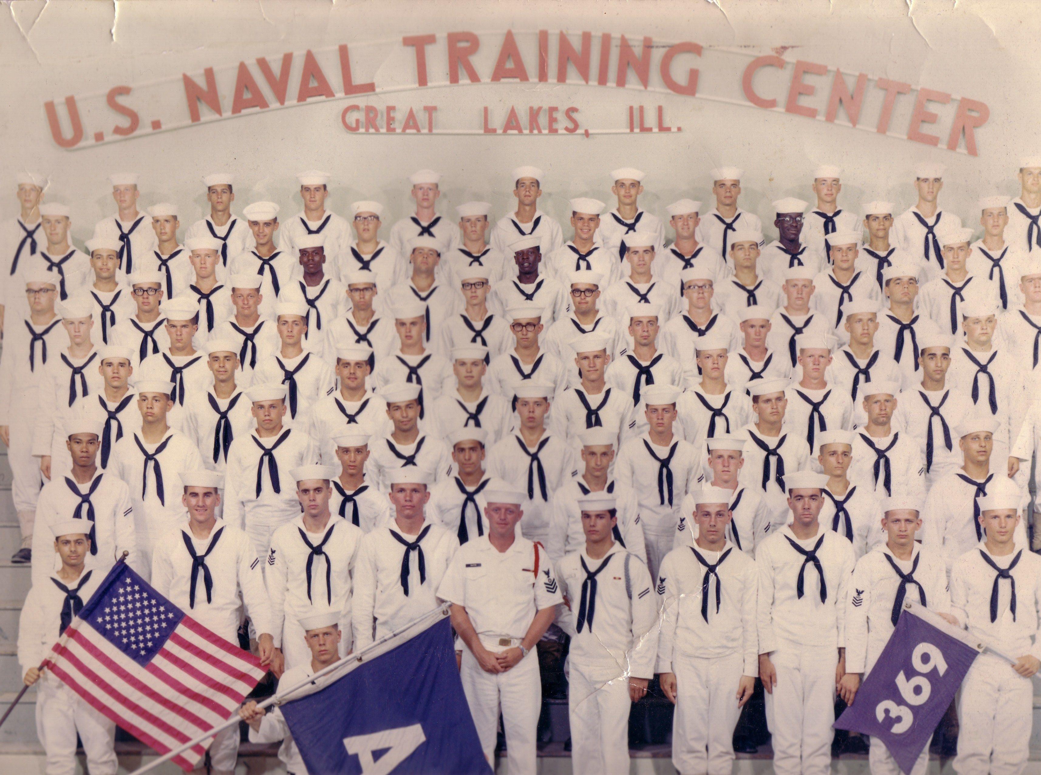 Navy Boot Camp Graduation Photo Great Lakes Illinois 1968 Navy Day Graduation Photos Great Lakes