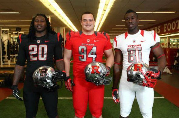 Rutgers New Football Uniforms Are Supposed To Look Like An Actual Knight In Shining Armor Football Uniforms Rutgers Football Nfl Football Uniforms