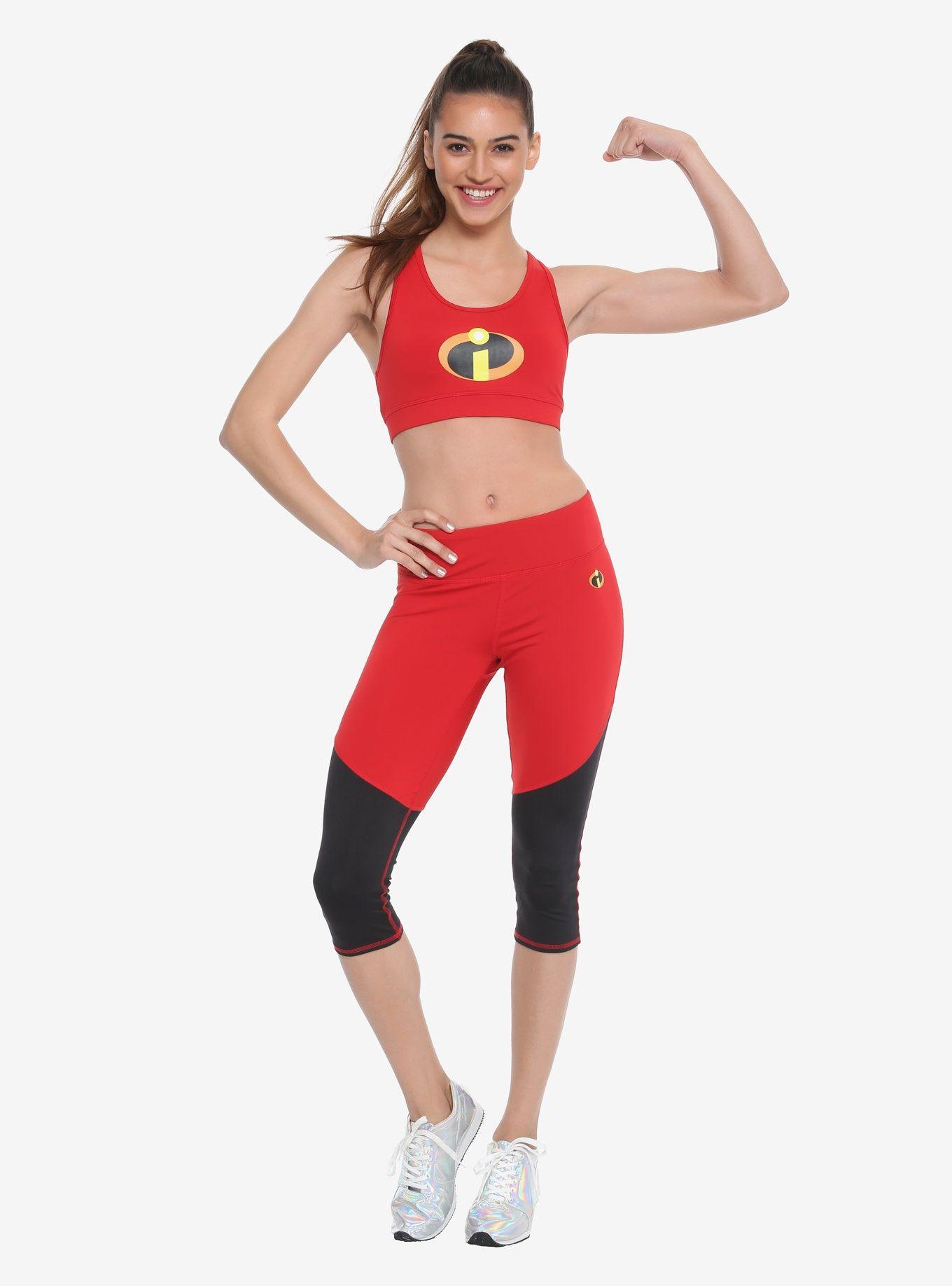 a419100f23 Her Universe Disney Pixar The Incredibles Active Pants, , alternate