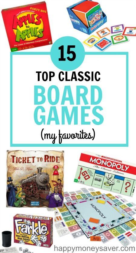 15 Top Family Board Games For 2020 Happymoneysaver Classic Board Games Top Family Board Games Best Family Board Games