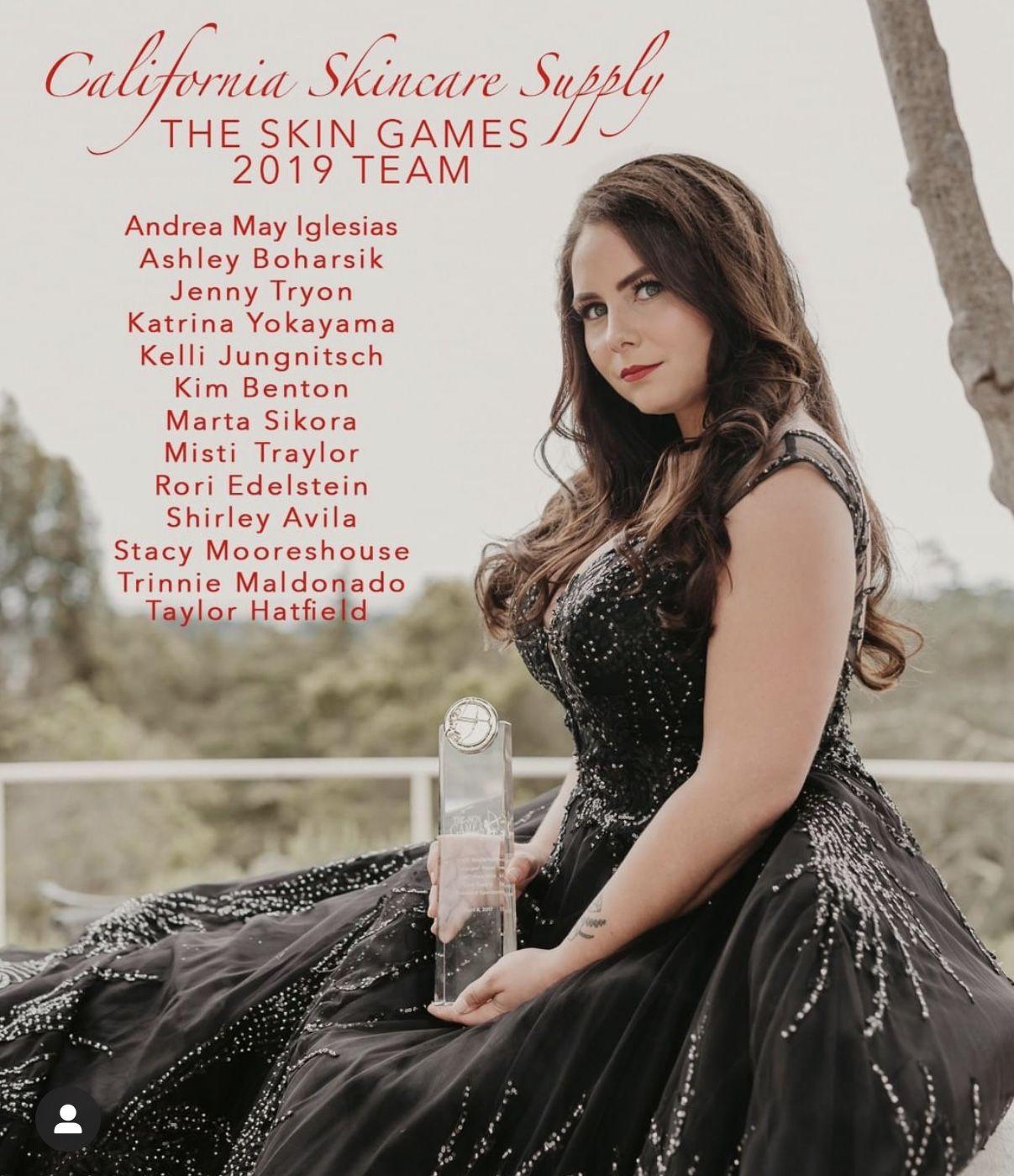CSS Team Members in the Skin Games 2019