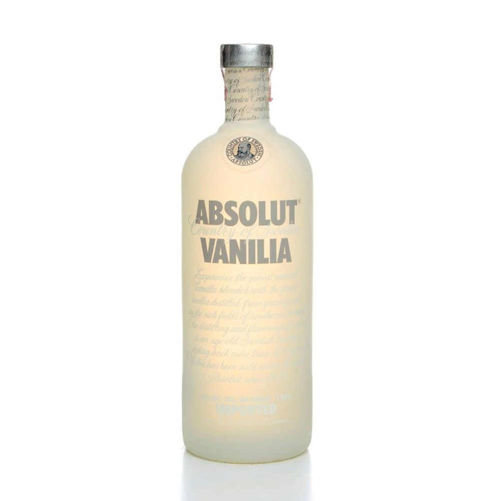 Vodka Absolut Vanilla 1L - Super Adega