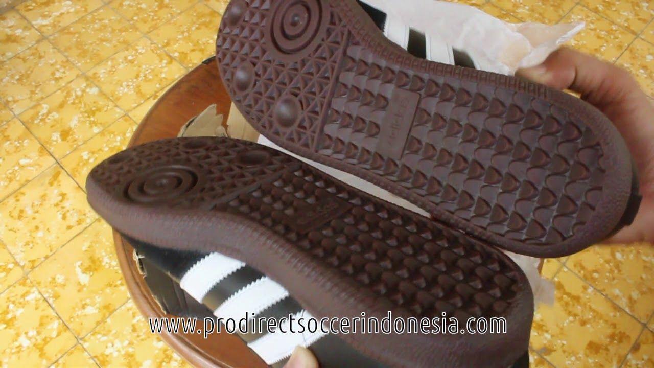 eefdd3cf7cf4d2 Sepatu Sneakers Adidas Samba Black 019000 Original