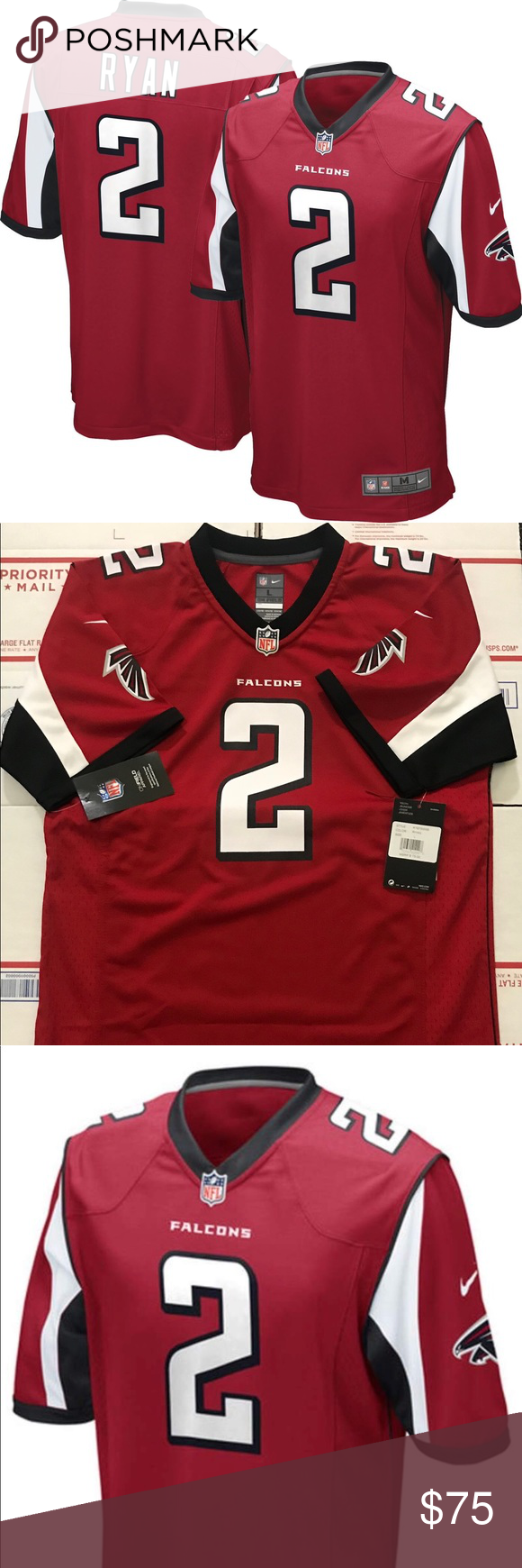 Matt Ryan Atlanta Falcons Nike Jersey Nike Jersey Atlanta Falcons Nike Nike Shirts