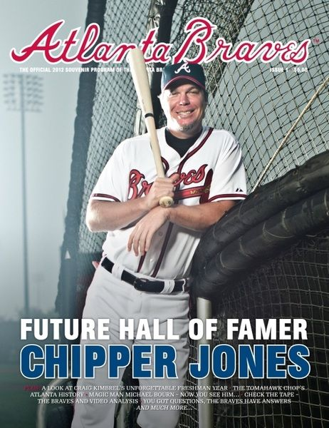 FUTURE HALL OF FAMER   CHIPPER JONES!