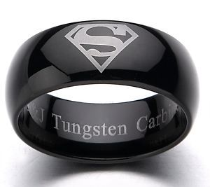 Men S Tungsten Wedding Bands Rings For Clic Black