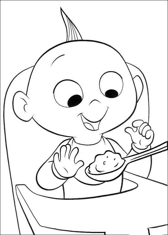 Die Unglaublichen Ausmalbilder 45   Ausmalbilder für kinder ...