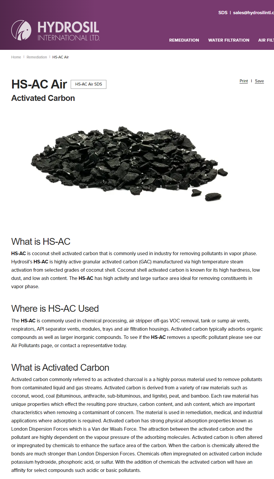 Pin on Water & Activated Charcoal Carbon