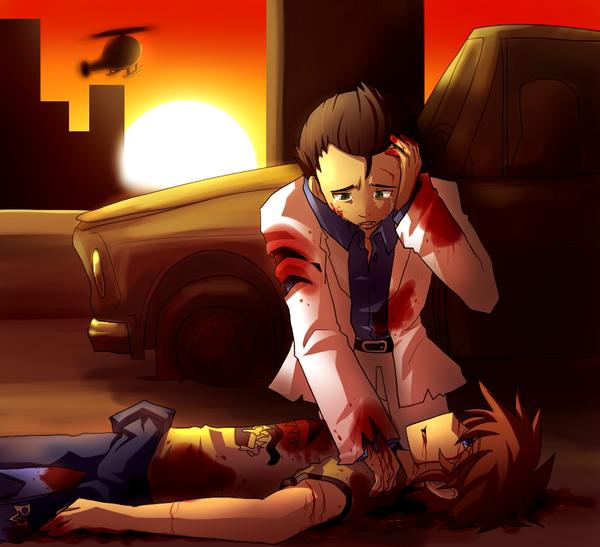 L4d2 Game Over Left 4 Dead Art Anime