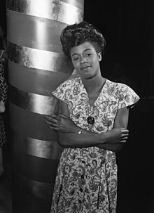 Sarah Lois Vaughan (March 27, 1924 – April 3, 1990) was an American jazz singer, described by Jazz commentator/music critic Scott Yanow as h...