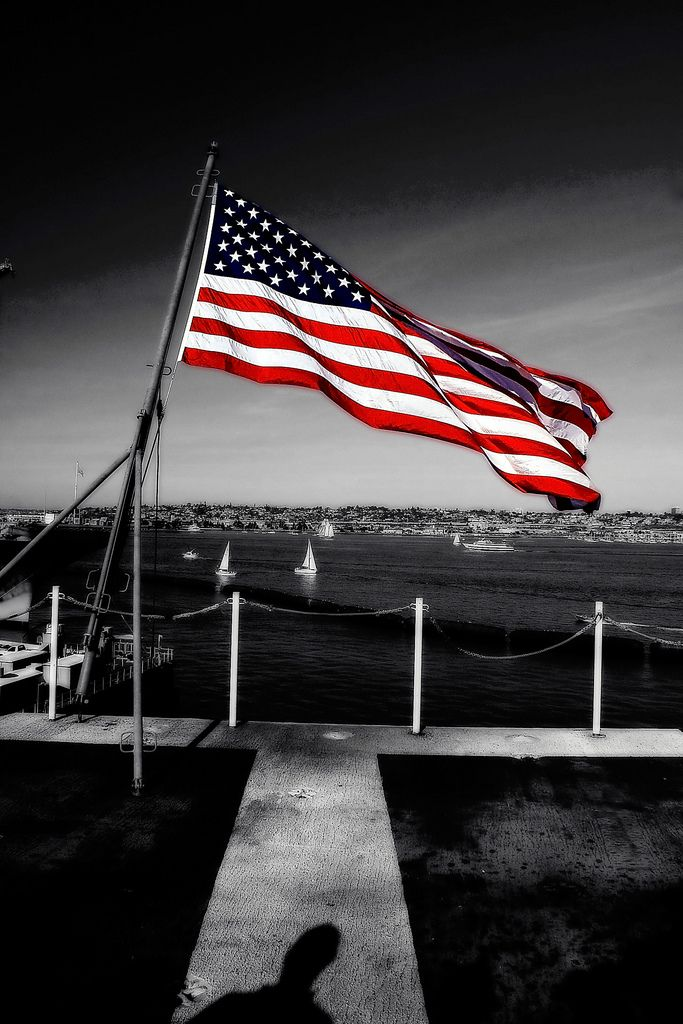 Uss Reagan American Flag American Flag American Flags Flying Flag