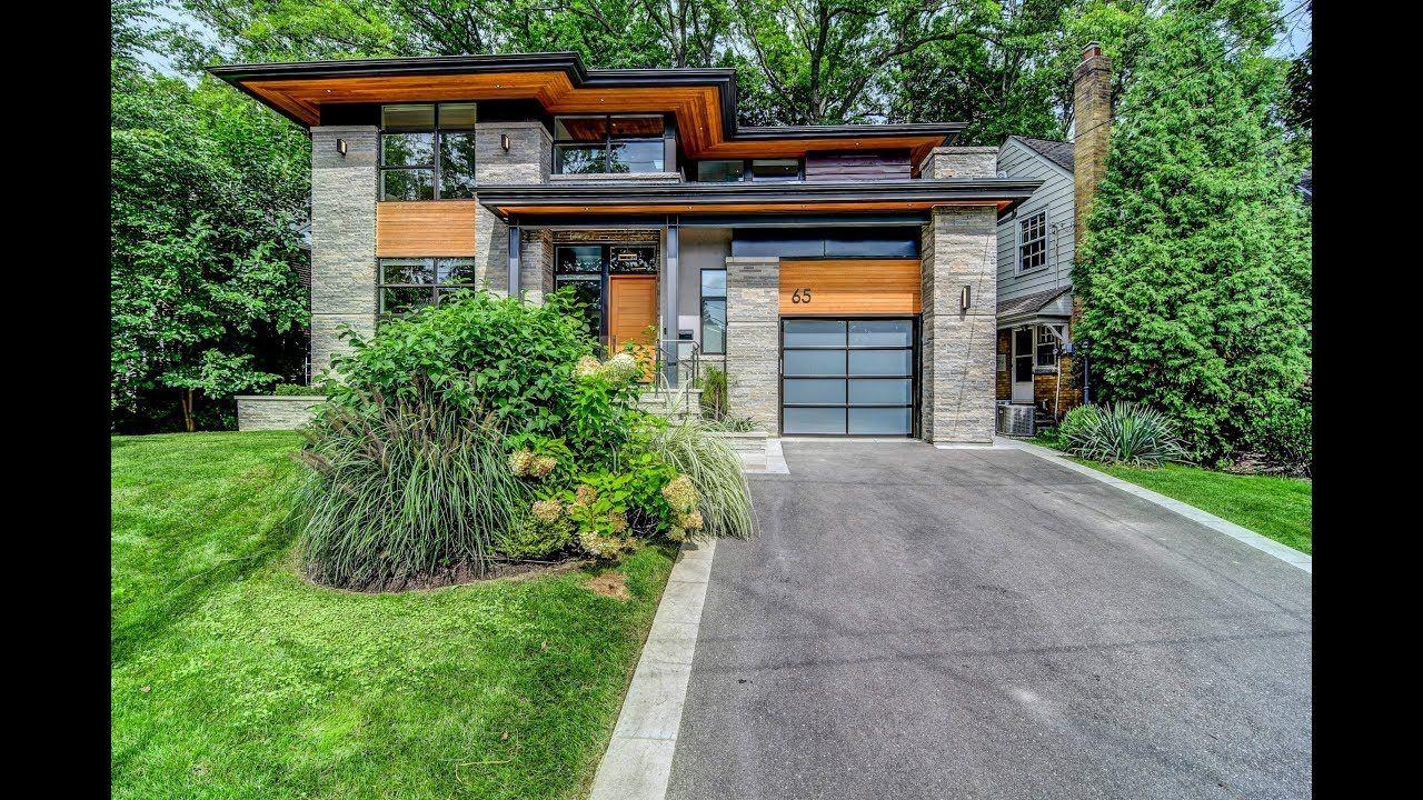 65 Brule Gardens Toronto - YouTube | Modern house design ...