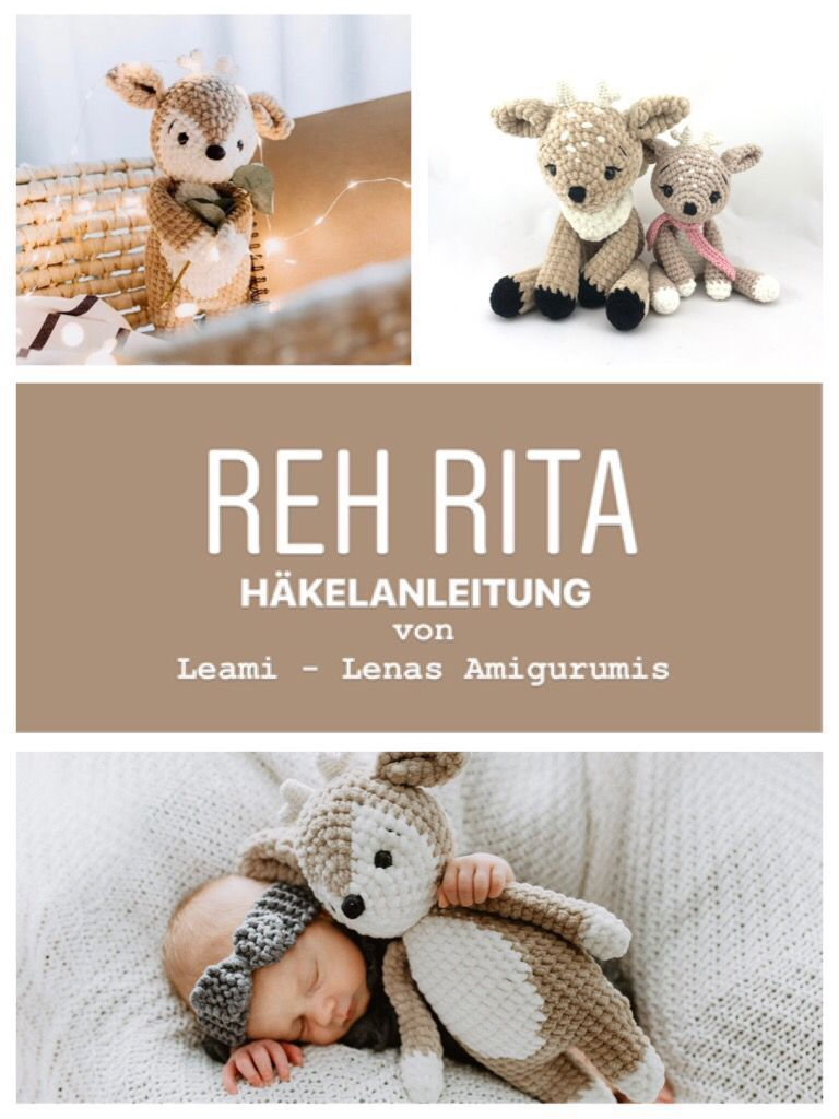 Photo of Reh Rita Amigurumi Häkelanleitung auf Deuts häkeln – Kleiner Balkon Ideen #ami… – Wellecraft