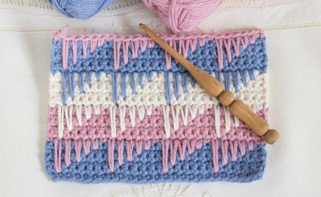 Crochet Spike Stitch Crochet Free Patterns Doilies Pinterest