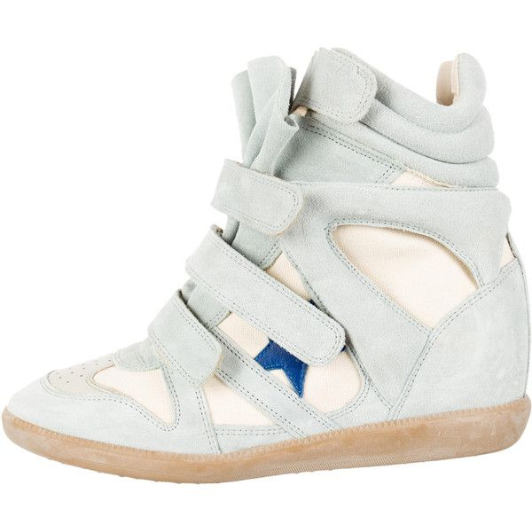 Pre-owned - Leather trainers Isabel Marant