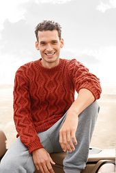 Ravelry: # 13 Herrenpullover mit Rhomben pattern by Rebecca Design Team