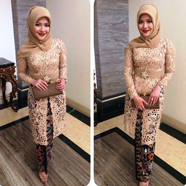 22 Model Kebaya Pesta Kekinian 2018 Contoh Baju Kebaya 2018 Baju