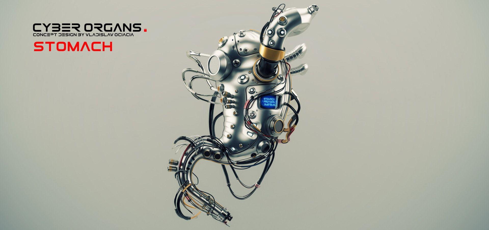 ArtStation - Artificial organs, Vladislav Ociacia