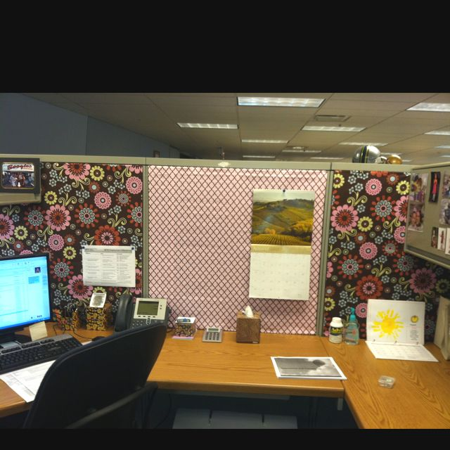 Cubicle Décor Ideas To Make Your Home Office Pop: Cubicle, Cube And