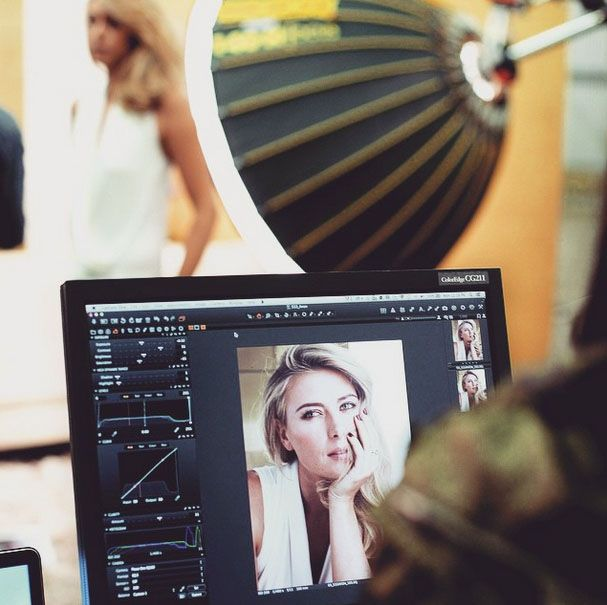 Maria's Instagram: It takes many gadgets to create the look #BTS #Avon #Fashion
