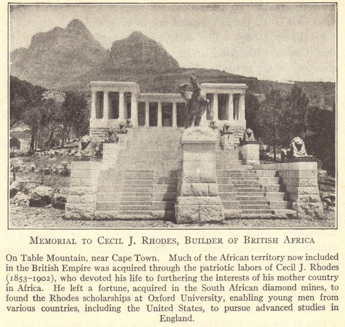 Memorial to Cecil Rhodes