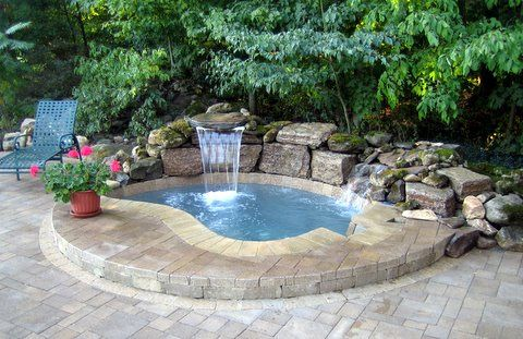 Inground Spas From Foranse Fence Deck