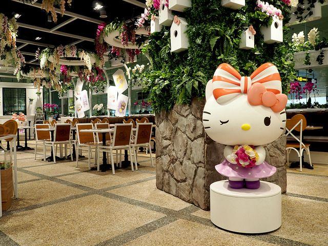 Themed Cafes Kitty Cafe Hello Kitty Themed Cafes
