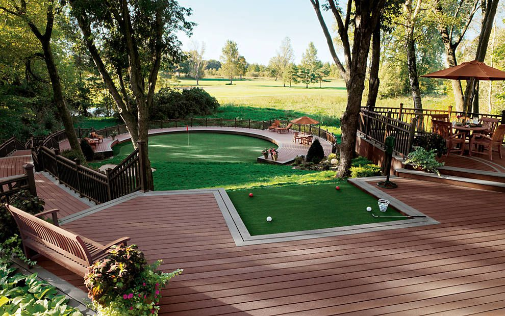 What golfer wouldn't like to have their own private green ...
