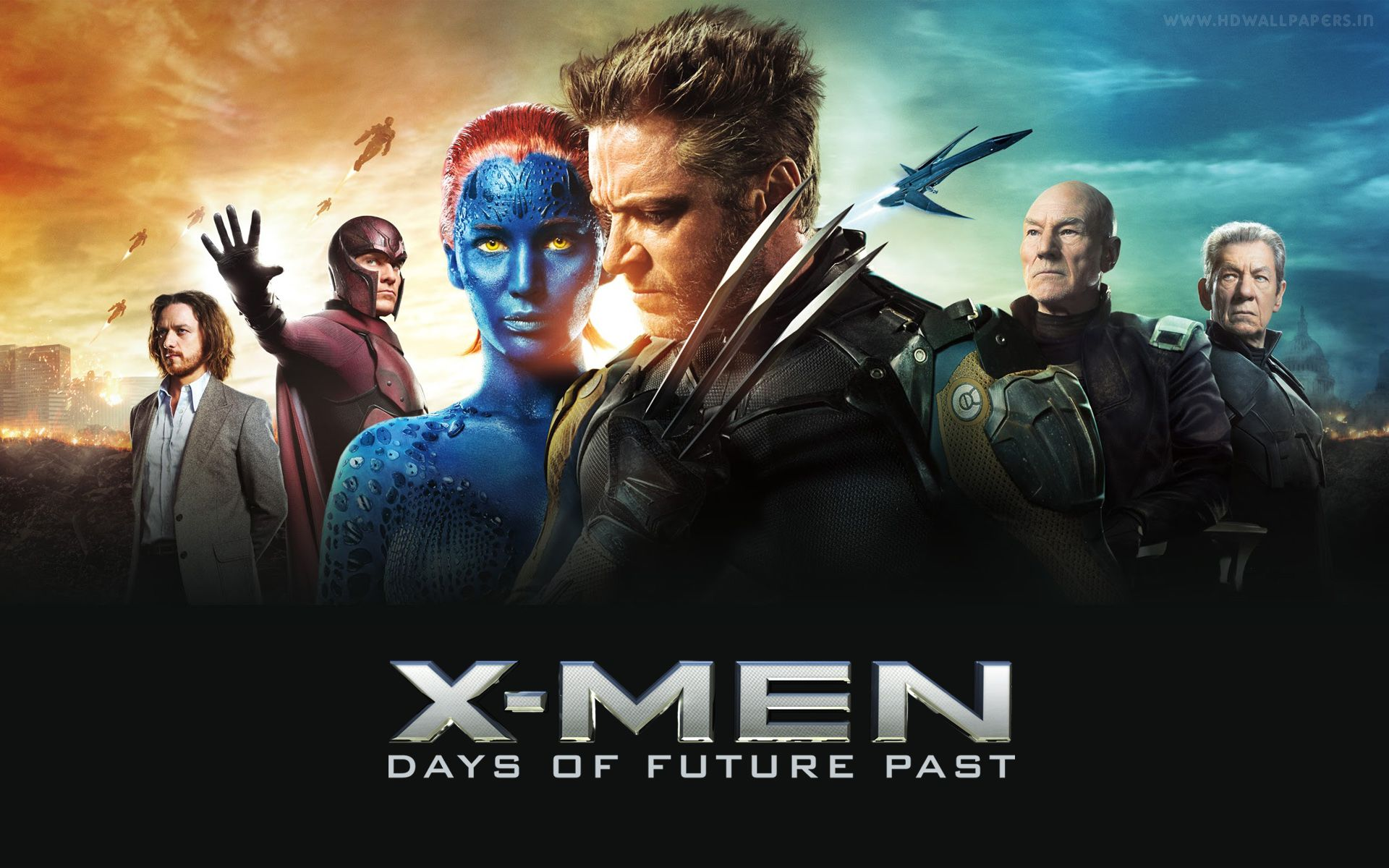 X Men Days Of Future Past Delivers The Goods Days Of Future Past X Men Man Movies